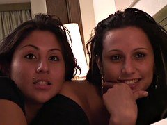 PUTA LOCURA A duo Spanish sisters fucked by Torbe