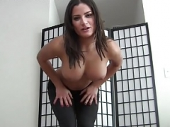 Be a good boy and furthermore watch me do my yoga JOI