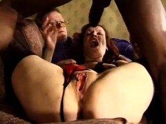 cuckold wife gets 2 huge fuck tools
