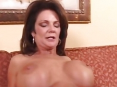 Hot Excited Cougar Deauxma Bangs Non-professional Large Knob Keiran Lee!