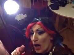 Sophie sexy crossdresser gets fucked