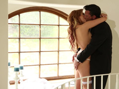 Latino lover with a deluxe dong wants to get down and dirty his horny bride