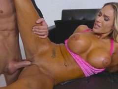 Stunning Mom i`d like to fuck with sizeable titties was seduced by local hunter