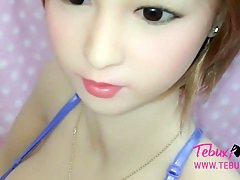 Hot and moreover realistic teen sex doll