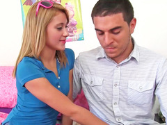 Marina Angel gets her cum bucket filled up with hard cock