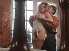 Moana Pozzi making anal sex in Intimita Anale (1990)