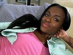 Gorgeous 18 y.o. ebony muff