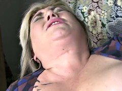 Mature BBW mom having sex with lucky son