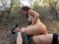 Three blowjob 1st time Mexican border patrol agent has his own ways to fend off border