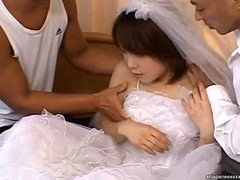 Morimoto Miku Young-looking Bride gets fucked anal