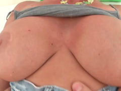 Breasty Mom i`d like to fuck Devon Lee groans while her love hole is smashed rough