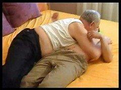 Grandpa Seduces Young and fresh Attractive Boy