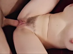 he wakes samantha bentley to stuff her hairy cunt with his dick