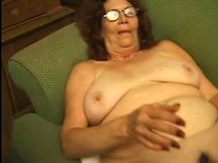 Granny In Glasses Strips & Plays