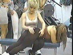 Sportycutie - gym class college girls