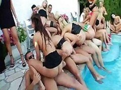 Pool Super Group orgy