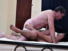 Dad ass pounding Filipino hunk