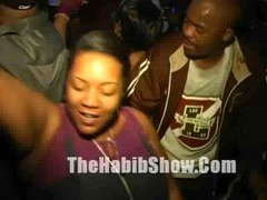 Hood Bithcs getting ghetto at the club