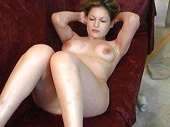 Hot babe Stripping