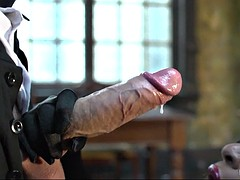 black slut jasmine webb helping him by sucking his hard cock