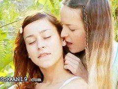 Brutal double dildo and moreover serbian lezzies