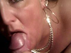 Pierced Bbw Dick sucking