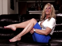 Eager mom Therapist Foot JOI