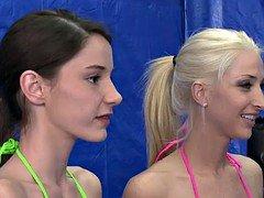 Sex battle among sisters twins