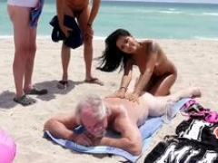 Mature skinny granny and couple 1st time Staycation with a Latin Hottie