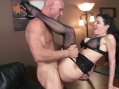 Lingerie milf Veronica Avluv fucked by her big cock boss