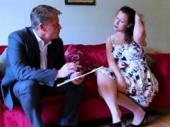 AgedLovE Hot Grown-up Lady Seducing Businessman