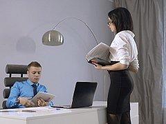 My secretary Sheri Vi