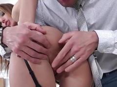 21Sextury Disciplining Hazel Dew's Gape to Take Huge Penises