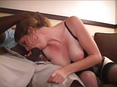 Newbie - Big Naturals Old with BBC - Hubby Films