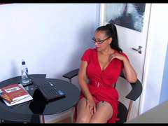 Donna Ambrose AKA Danica Collins - Danica hidden webcam