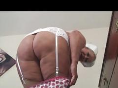 Old Slutty Nurse Making love Herself