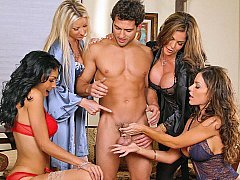 Four Females and moreover one lucky fella!