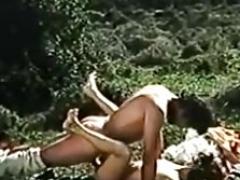 Vintage Bushy Greek Peasants Getting down and dirty 3