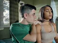 Rookie Legal teen Hoe finally gets some Cock