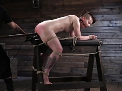 Pain Floozy Paige Pierce Surrenders to Rope