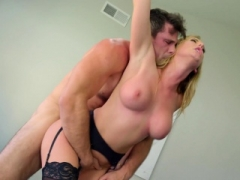 Mommy fucked standing up