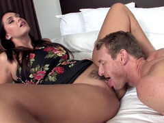 mischievous Alison Tyler hires a masculine call girl