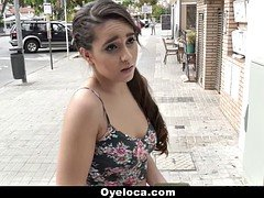 OyeLoca  Cute Latina Rewards Stranger With A Fuck