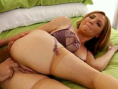 sizzling rectal cougar in Nude Stockings, Free HD Porn 9c: