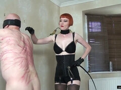 Old wrinkle pervert and hot Mistress