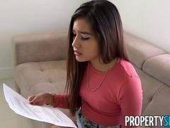 Sweet Zaya Cassidy Has to Fuck Her Landlord