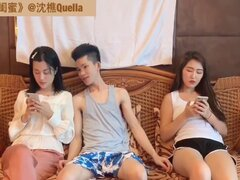 Chinese dude cheats on his wife with her bestie