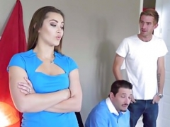 Brazzers - Positively Wife Stories - He Says She Gets down and dirty episode starr