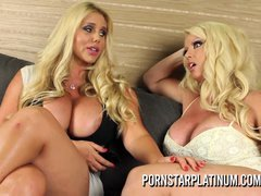 PornstarPlatinum - Alura Jenson with Karen Fisher 3 way