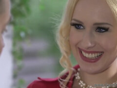 Naughty Blond Hair Babe Angel Wicky Hot Sex Clip